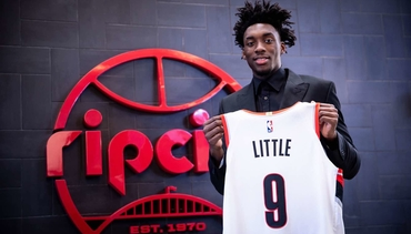 PHOTOS » Nassir Little's First Day in Portland