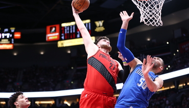 VIDEO » Nurkic with the massive tomahawk dunk