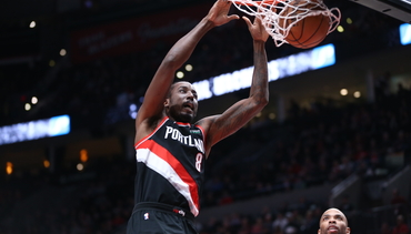 VIDEO » Nurk Block on One End, Aminu Dunk on the Other