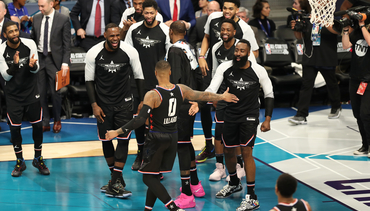 VIDEO » All Six of Dame's All-Star 3-Pointers