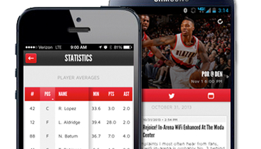 Trail Blazers Mobile App