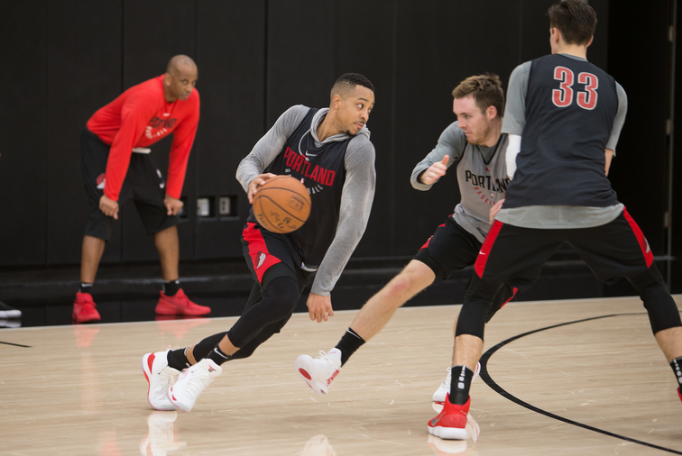 All-Access Photos »  Trail Blazers Practice