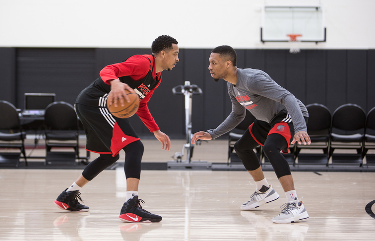 Photos » A Day at the Trail Blazers Practice Facility