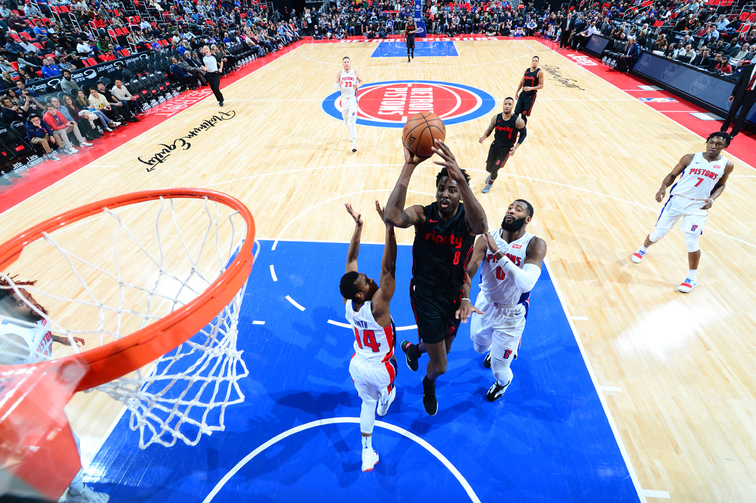 Photos » Trail Blazers at Pistons