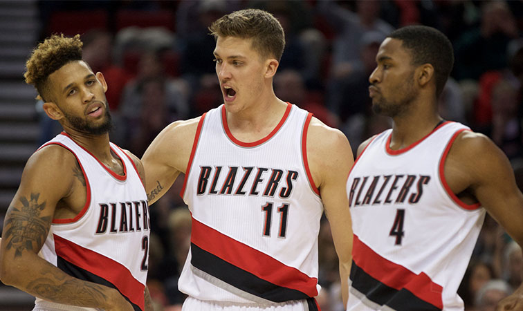 Allen Crabbe, Meyers Leonard and Maurice Harkless receive qualifying offers.