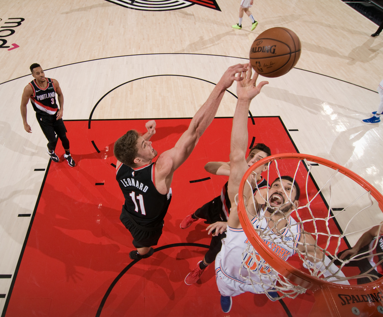 Enes Kanter finds new home with Trail Blazers