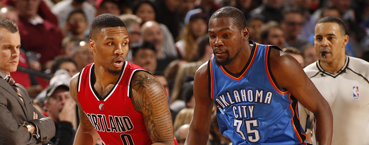 Image result for durant and lillard