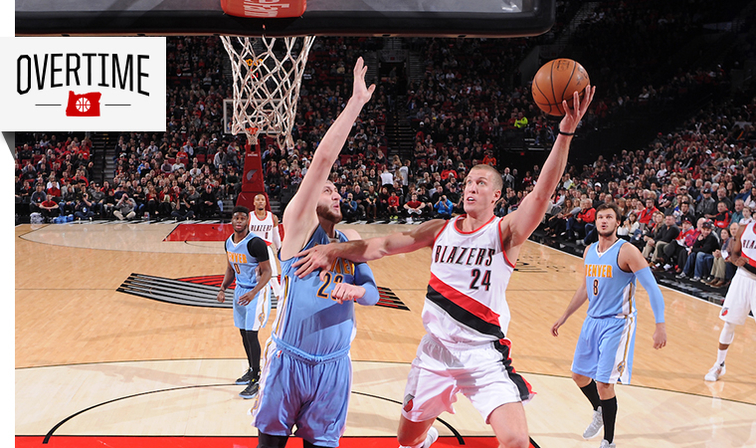 Blazers trade Mason Plumlee to Denver Nuggets