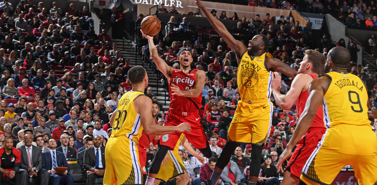 6c0f73573114 Portland Trail Blazers (3) vs. Golden State Warriors (1)  A Western  Conference Finals Preview