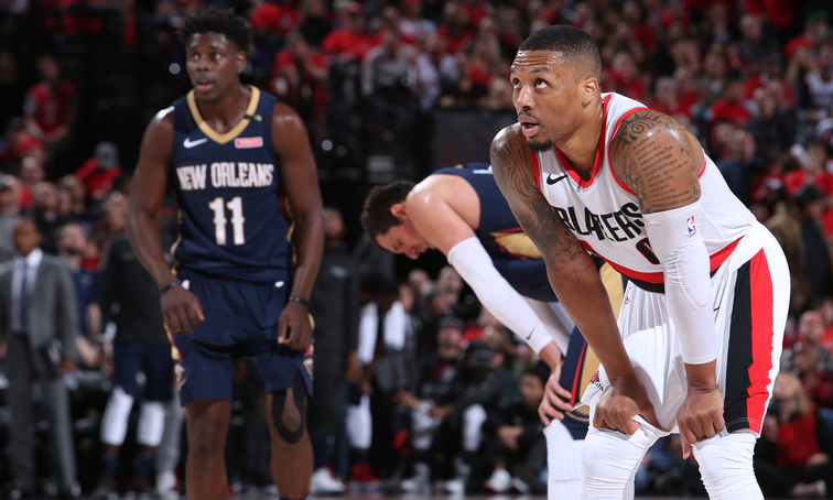 Trail Blazers Look For First Win As Series Shifts To New Orleans For Game 3