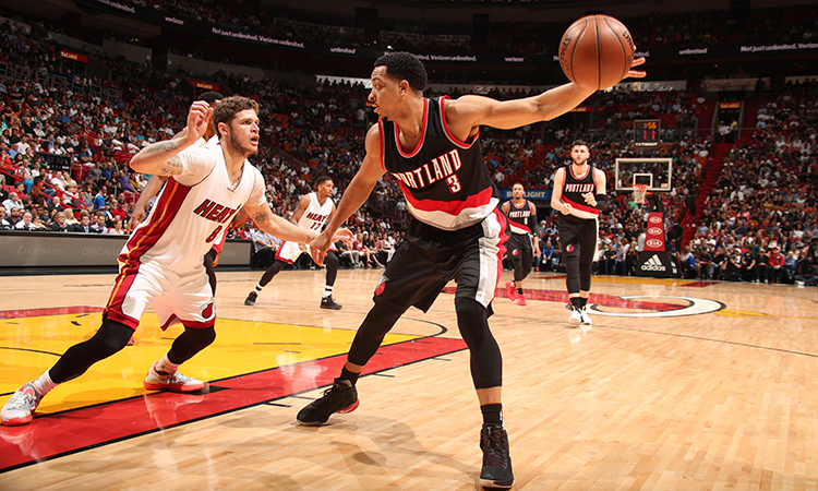 Damian Lillard hits just one triple in Blazers' win
