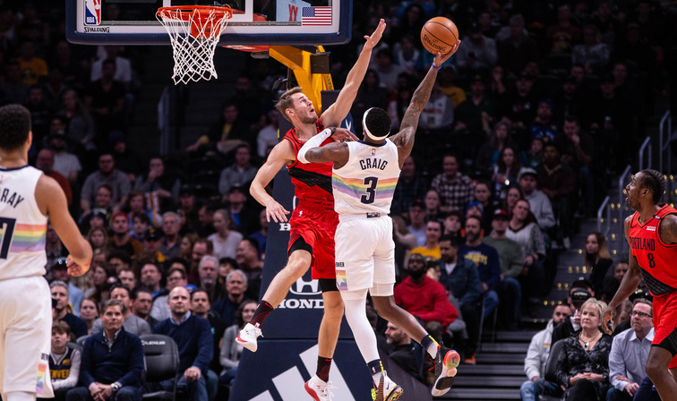 NBA Western Conference Odds: Portland Trail Blazers at Denver Nuggets
