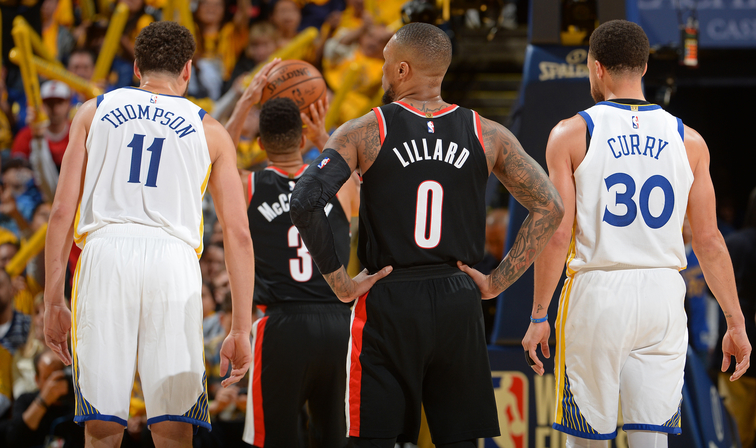 4119662b102 Western Conference Finals Game 3 Preview: (1) Golden State Warriors vs. (3)  Portland Trail Blazers