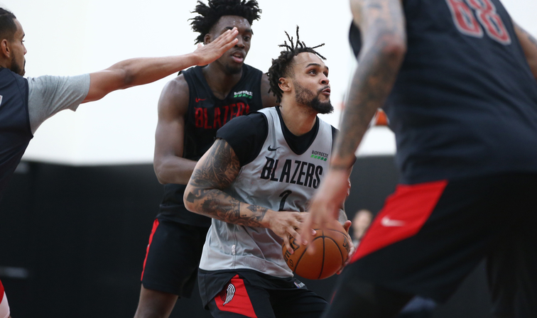Nassir Little's goals for Trail Blazers at Summer League: Just win