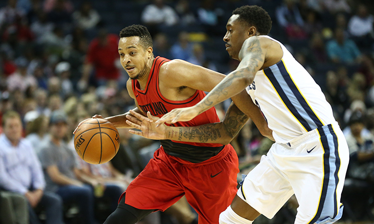 f119d4027 McCollum s 42 Points Not Quite Enough in Memphis. Grizzlies Snap the Trail  Blazers  ...
