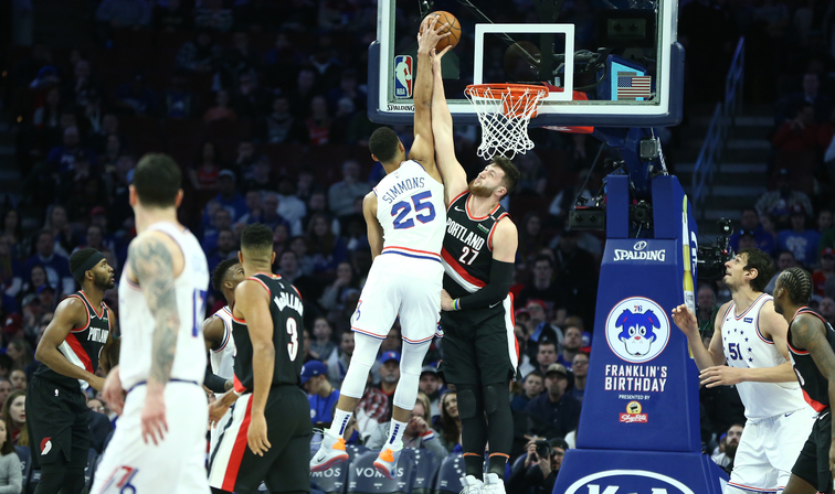 Saturday's National Basketball Association roundup: Trail Blazers enjoy early start, beat 76ers