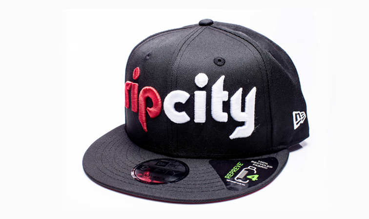 new arrival d9aab 0f366 ... snapback 91373 48d09 wholesale new era cap portland trail blazers and  repreve collaborate to launch first officially licensed nba ...