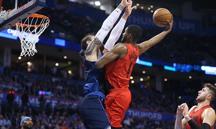 Russell Westbrook fouls out with 23 points in Thunder's loss to Blazers