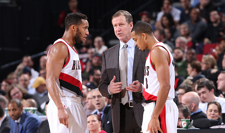 Blazers Try to Keep Pace in Playoff Race as Knicks Visit Rip City ... 28cf38ba3