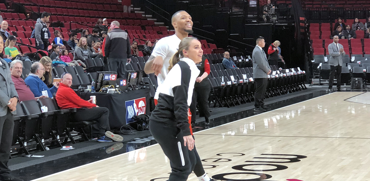 Lillard On Women Working In The NBA   They deserve to be acknowledged and  congratulated and shown love for breaking into the men s game  00d7326b90