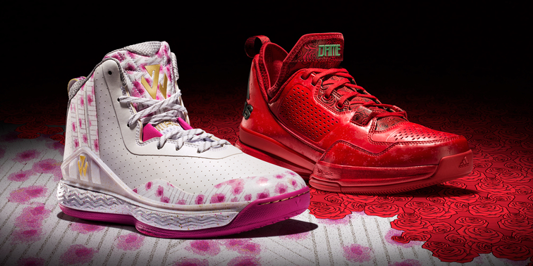 more photos 1a73a e9c84 ... spain adidas releases all red d lillard 1 as part of florist city pack  ee0f2 728c1