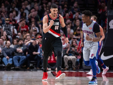 PHOTOS » Trail Blazers vs Pistons