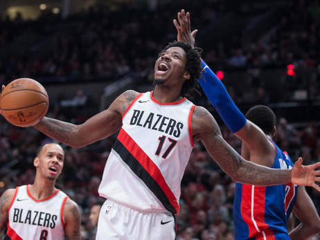 PHOTOS » Trail Blazers vs. Pistons