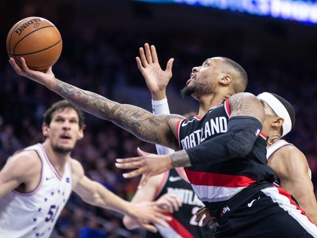 PHOTOS » Blazers vs Sixers