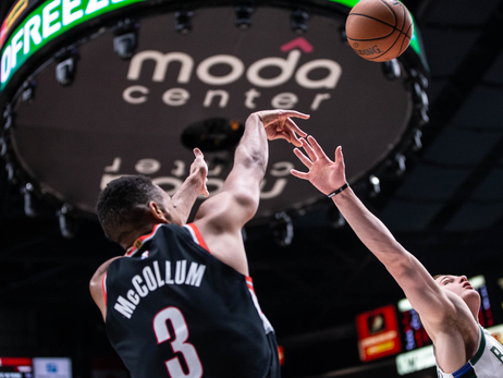 CJ McCollum Named Western Conference Player of the Week