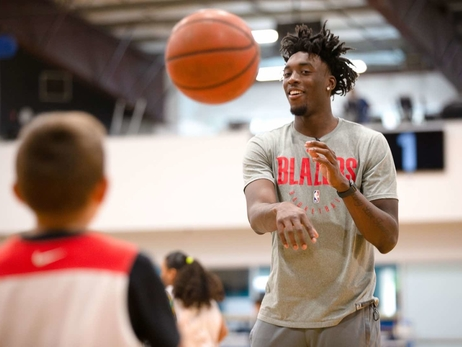 PHOTOS » Nassir Little at Summer basketball camp