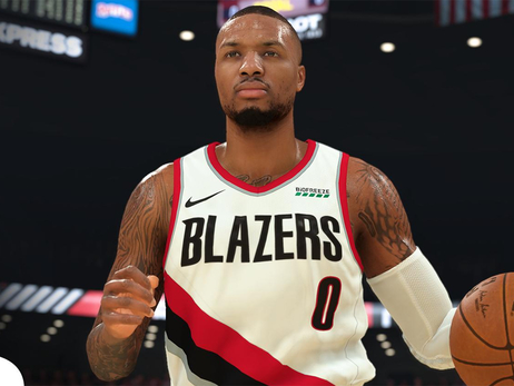 Lillard In Top 10 Of NBA2K20 Rankings