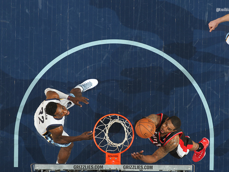 Photos Game 2: Trail Blazers at Grizzlies