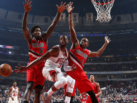 Trail Blazers Start Road Trip Off Right In Chicago
