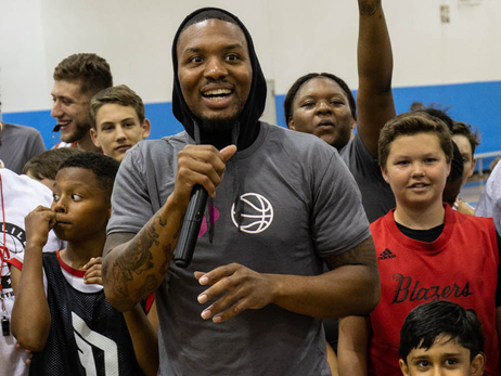Lillard Discusses Portland's Offseason, Fatherhood And Trades At His Annual Hoops Camp