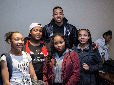 Fans Urged to Vote Now on Social Media for Trail Blazers' CJ Mccollum for NBA Season-Long Community Assist Award