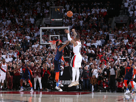 Lillard Ends Another Series With A Buzzer-Beater, This Time Versus Oklahoma City