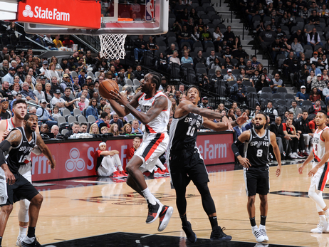 Scorching Spurs Too Hot for Blazers to Handle