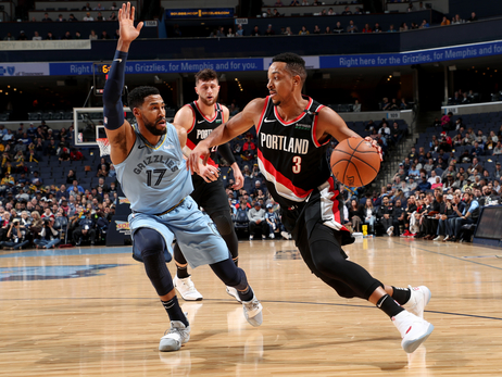 Grizzlies Grind Out Win Over Blazers in Memphis