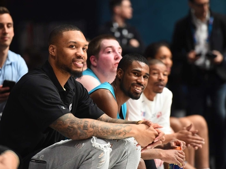 PHOTOS: Damian Lillard at 8th Annual NBA Cares Special Olympics Unified Game