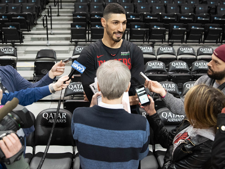 Kanter Talks Why He Picked Portland, Getting Up To Speed And Playing 'With A Smile On Your Face'