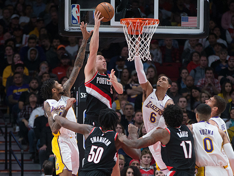 Trail Blazers Look For 14th Consecutive Victory Versus Lakers Saturday Night In L.A.