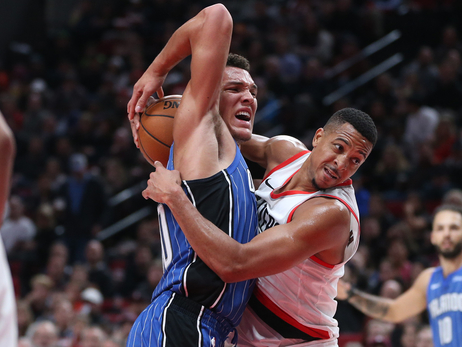 Second-Quarter Run Sets Up Trail Blazers' Victory Versus Magic