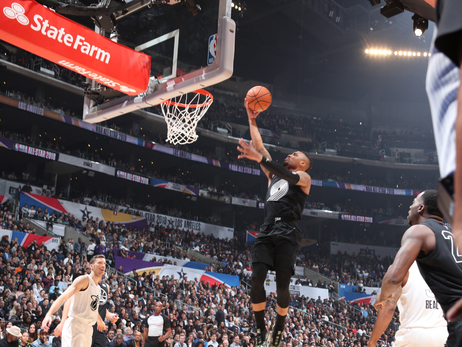 PHOTOS » Lillard At The All-Star Game