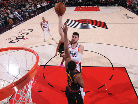 Nurkić Gets First Triple-Double As Blazers Handle Cavs