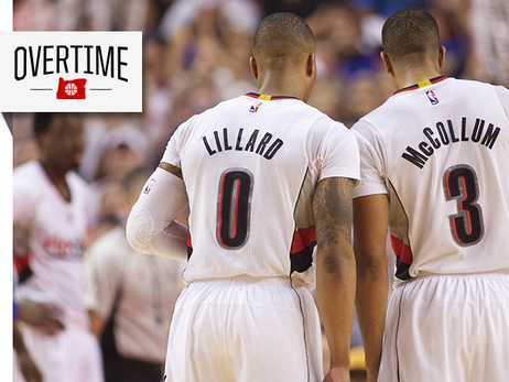 The Vertical Hails Lillard and McCollum as 'Best Young Backcourt in the League'