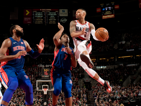 Blazers Host Pistons In First Meeting This Season