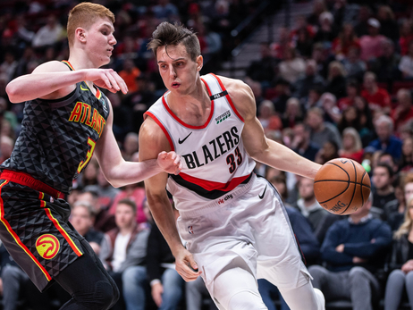 Blazers Go For Another Season Series Friday In Atlanta