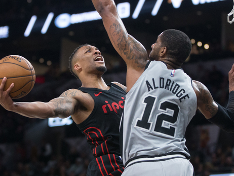 Trail Blazers Settle Into The Season With Spurs Saturday Night