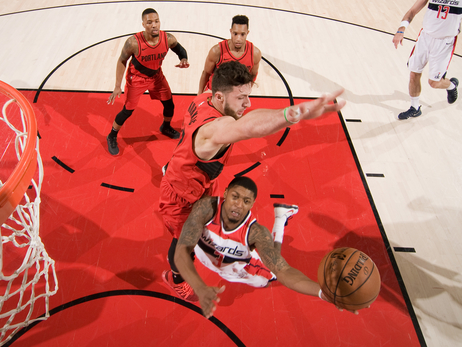 Trail Blazers Finish Three-Game, Season-Opening Homestand With Wizards
