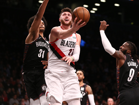 Trail Blazers Start Trip, Second Half Of Season With Convincing Win In Brooklyn
